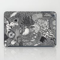 surrealism iPad Cases featuring Improvisation Psychedelic Surrealism by It's Later Than You Think