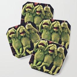 Kermit - Green Frog Coaster