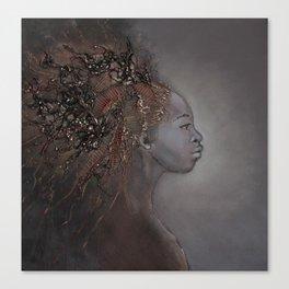 Ritratto di profilo Canvas Print