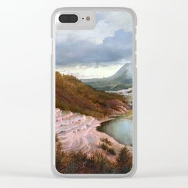Charles Blomfield The Terraces Clear iPhone Case