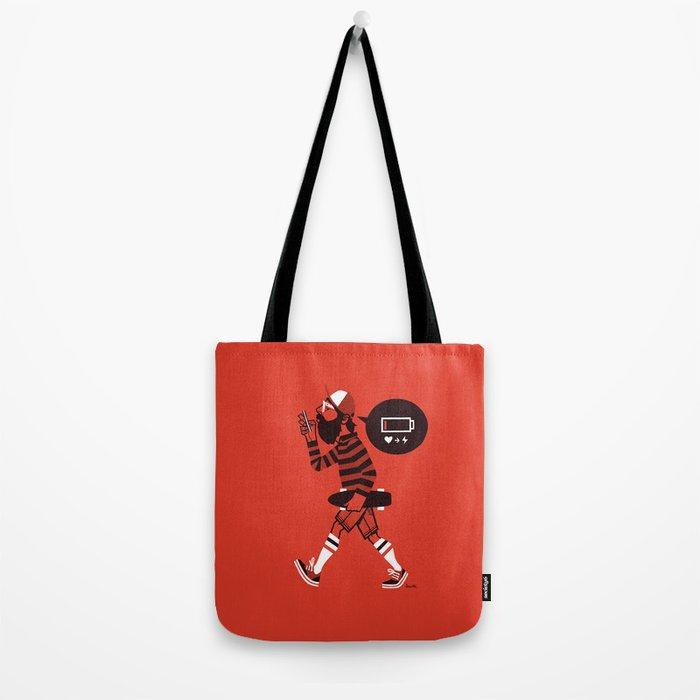 LOW BATTERY Tote Bag