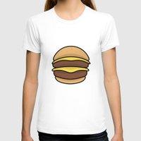 burger T-shirts featuring BURGER by KODYMASON