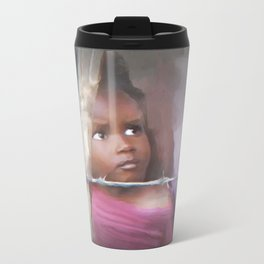 behind the barb Metal Travel Mug