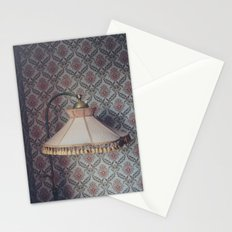 Corner lamp Stationery Cards