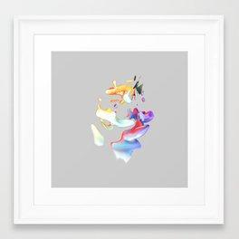 ACRYLIC III Framed Art Print