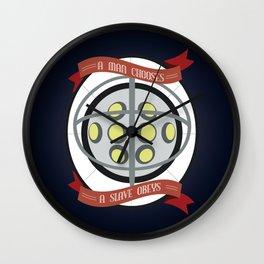 A Man Chooses Wall Clock