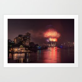 Happy 4th of July, USA!!!! Art Print