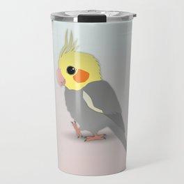 Cute cockatiel Travel Mug