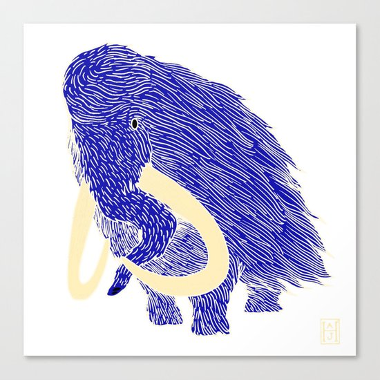 Mammoth Canvas Print