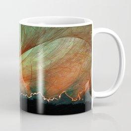 Sunset stormy skies Coffee Mug