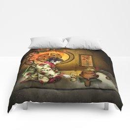 Camellia Tea Comforters