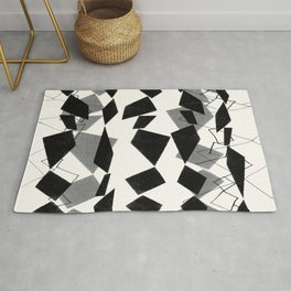 tribal diamonds Rug