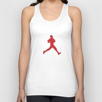 obama Tank Tops featuring Obama Jumpman by Michael Rosenfeld