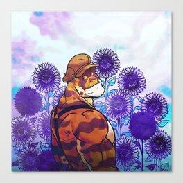 Sunflower Sanctuary Canvas Print