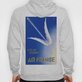 Flèche D'Orient - Vintage Air France Travel Poster Hoody