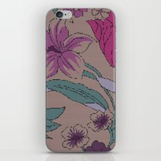 floral knit iPhone & iPod Skin