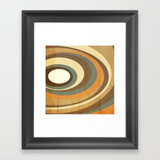 retro rings Framed Art Print