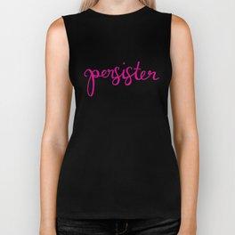 Persister in Pink Biker Tank