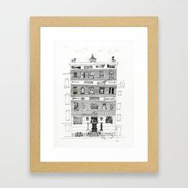 10th street 2 Framed Art Print