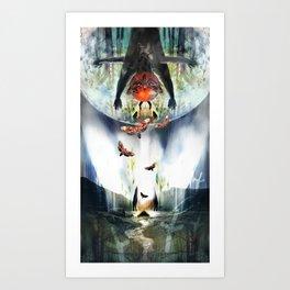 Zain or The Angel of Death Art Print
