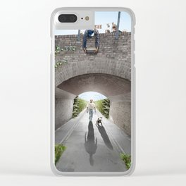 Seconds before the incident Clear iPhone Case