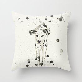Spot Splash Throw Pillow