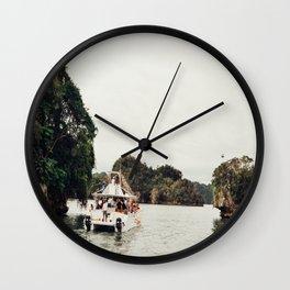 Samana Adventure Ferry Wall Clock