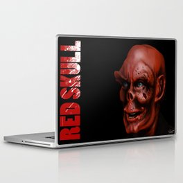 THE FACE COLLECTION - RED SKULL Laptop & iPad Skin