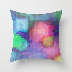 WaterColor#2 Throw Pillow