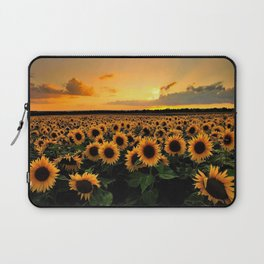 Sunflower field Laptop Sleeve