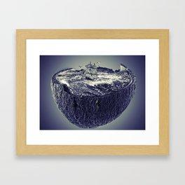 CoconutWaves Framed Art Print