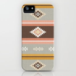 Vintage Kilim (big) iPhone Case