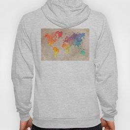 World Map Maps #map #maps #world Hoody