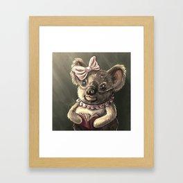 Grandmother Koala Bear Framed Art Print