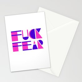 Fuck Fear Stationery Cards