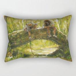 Little Rivers (original) Rectangular Pillow