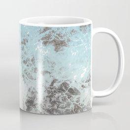 Blue gray abstract pattern Coffee Mug