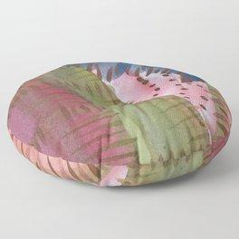 The Caterpillar - by SHUA artist Floor Pillow