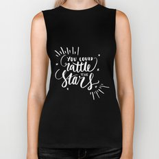 You Could Rattle the Stars - Throne of Glass Biker Tank