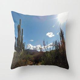 Spur Cross Ranch Throw Pillow