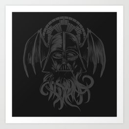 Darth Cthulu Art Print