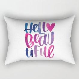 Hello Beautiful Rectangular Pillow