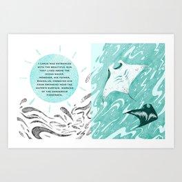 Icarus 1 Art Print