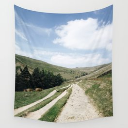 A trail in the peak district Wall Tapestry