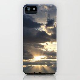 LAST RAYS iPhone Case