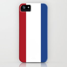 flag of netherlands  iPhone Case