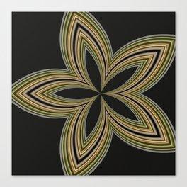 Fractal Star Aura in CMR 01 Canvas Print