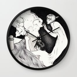 HYDE LOVE Wall Clock