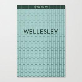 WELLESLEY | Subway Station Canvas Print
