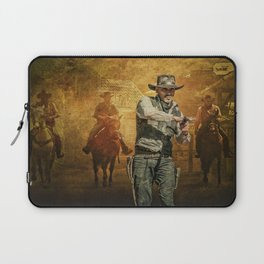 Gunfight at the OK Corral Laptop Sleeve